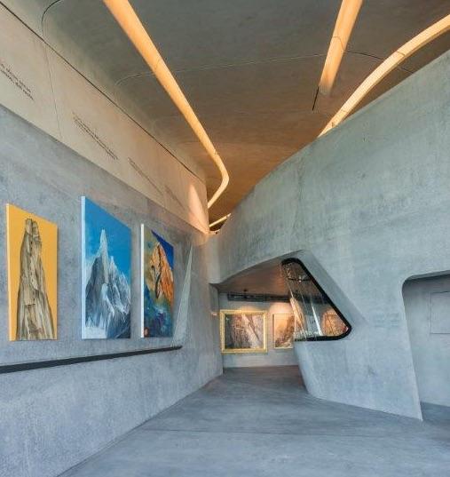 IL MUSEO DOLOMITICO FIRMATO ZAHA HADID