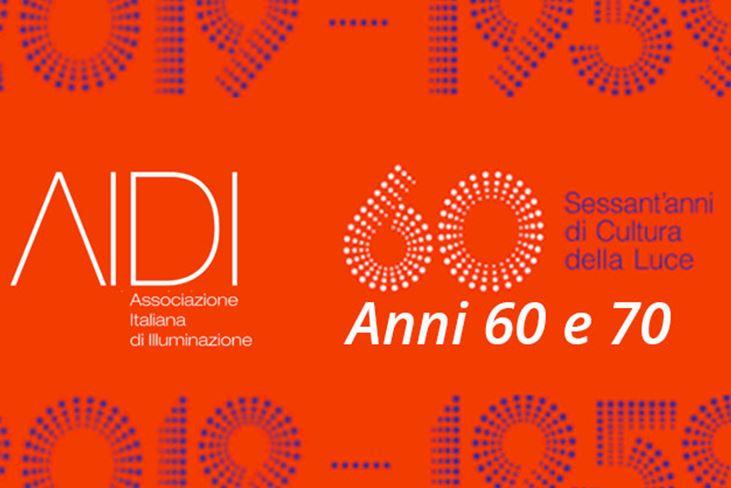 AIDI FESTEGGIA SESSANT'ANNI DI CULTURA DELLA LUCE